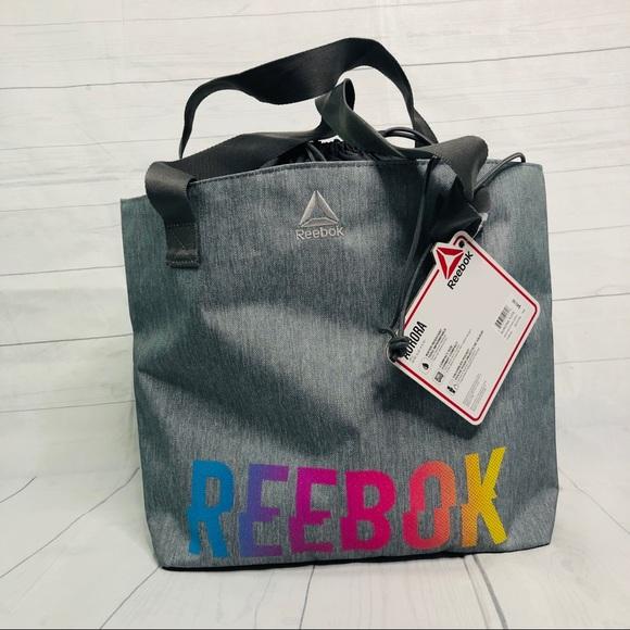 01e643b9945c Reebok Studio Series Aurora Drawstring Tote Bag NWT
